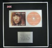 BRITNEY SPEARS  - CD single Award - BABY ONE MORE TIME
